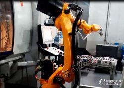 机床上下料搬运机械手 轮毂全自动上下料机器人