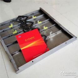 福建臺迅LGF-760加工中心鋼板防護罩安裝細節
