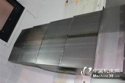 汉川机床XH715D加工中心导轨钢板防护罩