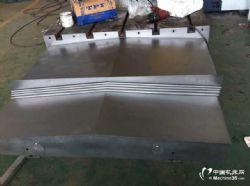 供应宁夏大河ZXK50A数控加工中心导轨钢板防护罩
