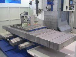 供應青島青重BXM20龍門刨銑床標配導軌鋼板防護罩