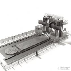 32米*10米龙门车铣复合中心