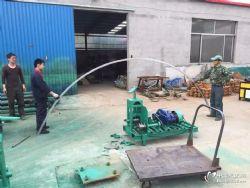 供应不锈钢管握弯机 立式电动弯管机 奥科弧形弯管机