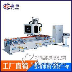 數控榫槽機 雙排異形鉆孔銑槽 木床桌椅加工設備