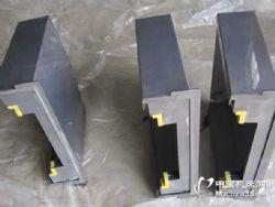 友佳数控机床钢板防护罩,伸缩式防护罩