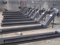 定做台湾油机复合加工中心机床链板排屑机,螺旋排屑机