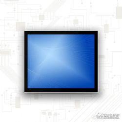 10.1寸-27寸多尺寸无风扇电容触控一体机可定制多接口工控一体机