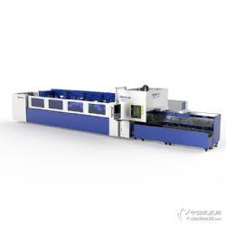 海目星光纖激光管材切割機