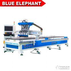 藍象雙工位四工序數控開料機