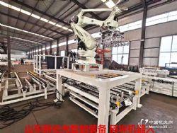 全自动码垛机 码垛机器人大大超过人工生产量