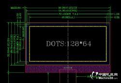上海GV12864G液晶显示屏COG屏质量怎么样?