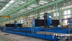 定制24米數控雙龍門高速鉆銑加工中心