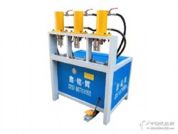 鑫铭辉全新W3-RO100多功能液压冲孔机,冲弧机,切断机等