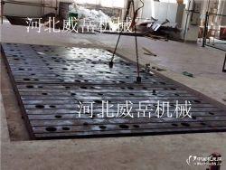 泊头特供 大型铸铁平台 检验平台 试验平台分批处理