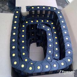 滄州旭曦TL125工程尼龍全封閉橋式靜音塑料拖鏈