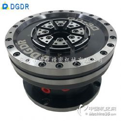 轻薄工件气动夹头GD65高精膜片气压回转夹具磨床中空旋转卡盘