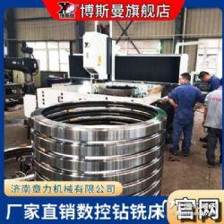 博斯曼自动钻孔设备厂家直销重型龙门数控钻床风电主轴自动钻孔机