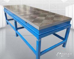 铸铁平台划线焊接刮研平台装配T型槽钳工研磨工作z台测r量检验