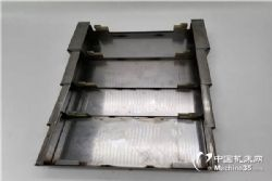 厂家直销¤台信V8立式加工中心导◇轨式钢板护罩