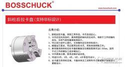 銷售BOSSCHUCK斜柱后拉卡盤,原裝進口,支持非標定制