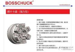 BOSSCHUCK原装进口膜片卡盘强力型 提供易损件