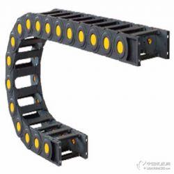 供应耐高温塑料拖链雕刻机保护链坦克链封闭链条