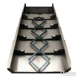 供应南通VMCL850加工中心伸缩防护罩Y轴导轨钢板防护罩