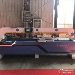 单主轴侧孔机 板式家具红外线激光侧孔机