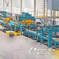 自动造型生产线,自动静压铸造线,静压造型工艺流程