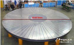 德国WAGNER电永磁卡盘j径向极距风电轴承用 特大直径6000mm