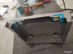 供应台信V8立式加工中心导轨式钢板护罩