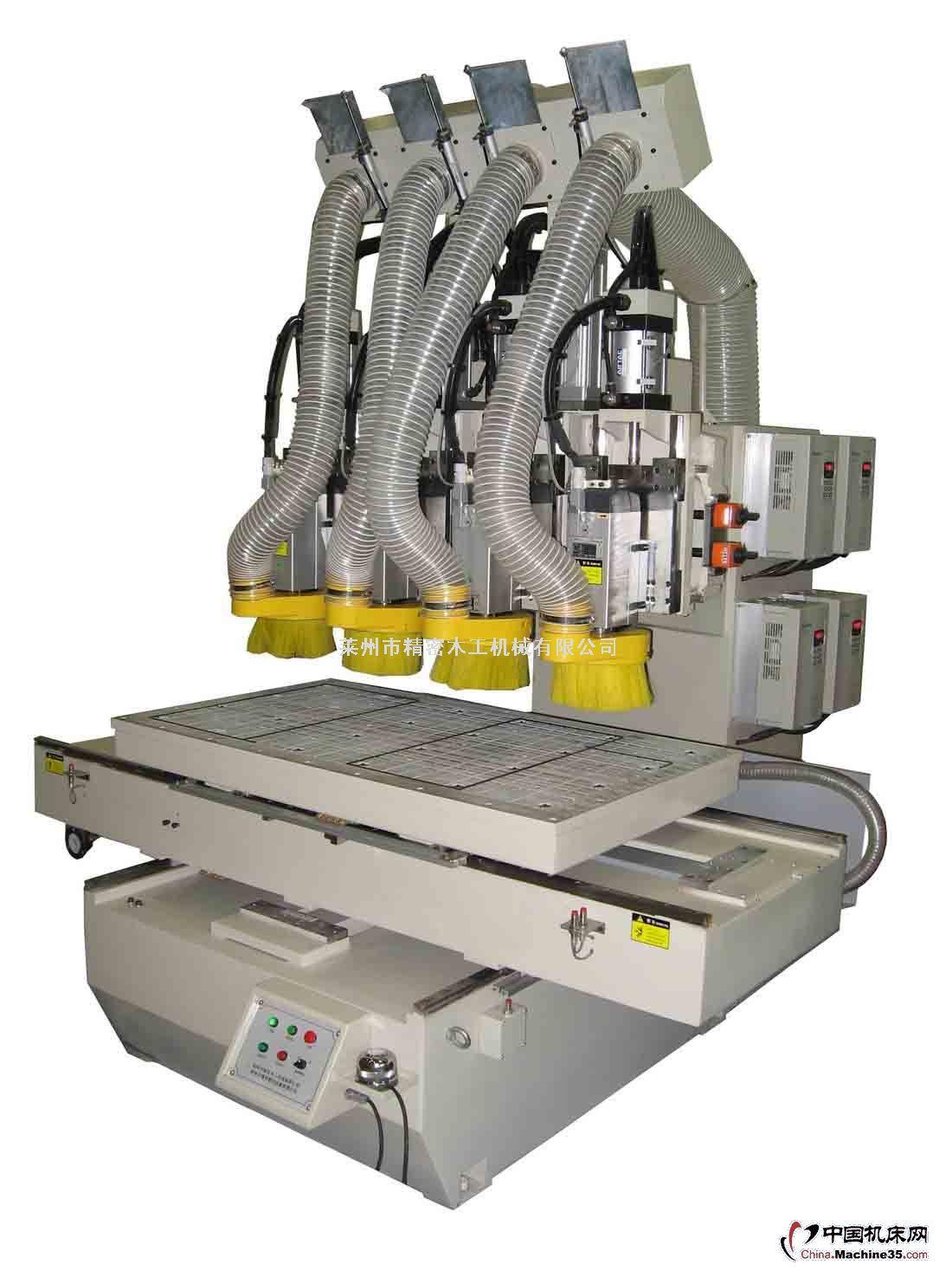 数控木工机械多头多功能雕刻机
