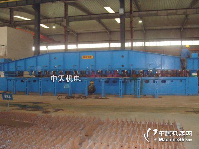二手12米济南板料9米12米刨边机89年包安装调试
