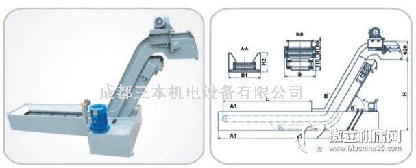 2型提升复合式排屑机