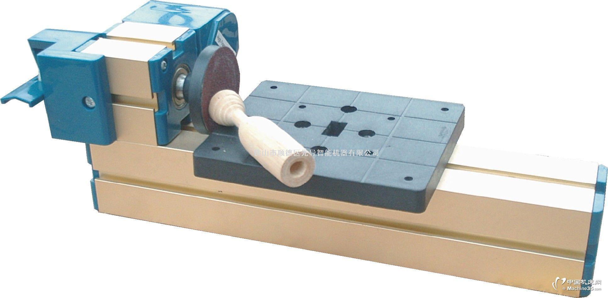 产品详细介绍产品特点:中心高25mm,砂纸粒度一般为100,可根据不同的工件及加工表明要求选择砂纸.加工时可将物件固定使用在虎钳或钻台,也可以手持进行各种角度研磨,变压器有过热保护磨床技术参数:马达转速:20000转/分钟输入电压/电流/功率:12VDC/2A/12W工作桌面积:123x100mm中心高:25mm轮盘直径:φ49包装大小:230×200×315mm重量:2.