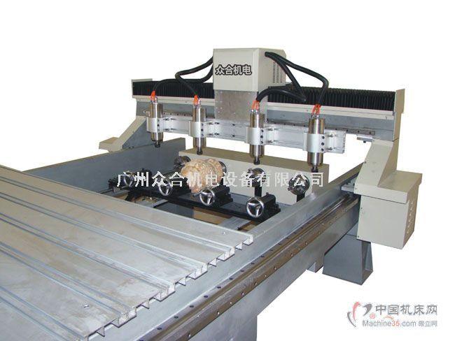圆柱雕刻机-木工雕刻机-木工钻床-木工机床-中国机床网