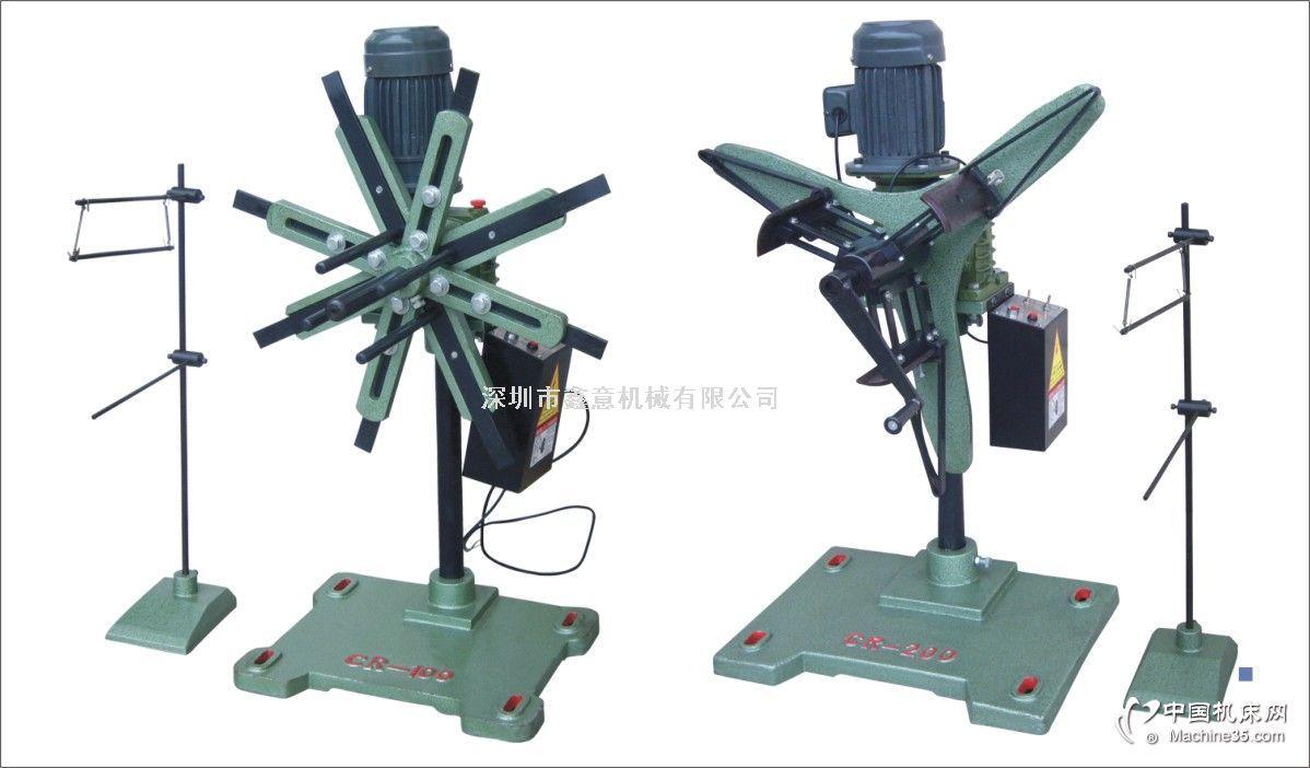 结构Configuration:本机采用立杆支撑,蜗轮蜗杆减速,电机直联,联轴输出结构,因此占地面积小,减速比大,运行平稳,结构简单,故障率低,且装料方便省时省力。本机由机架、托料装置、减速箱电机、电控箱、感应架或微动装置组成。使用范围Usearea:金属或非金属薄板卷料的自动送料及废料收卷,适合各种五金厂、电子零件加工厂。规格表Specification:型式材料内径材料外径材料宽度材料重量电动机CR-100130~410m/m800m/m150m/m10。