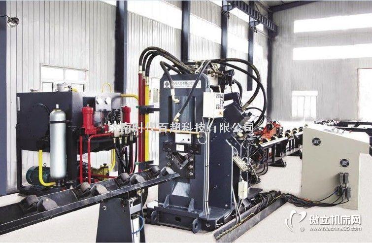 ·该机为电力、通讯铁塔制造业----角钢打字,冲孔,切断一体化的专用数控加工设备。联系人:段经理电话:18853115228·CNC数控自动生产线电气控制先进,加工过程采用计算机控制·加工角钢范围63×63×4mm~200×200×20mm,最大冲孔能力Φ25.