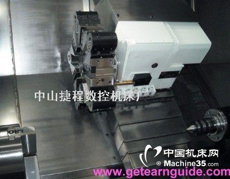 中山斜床身数控机床图片