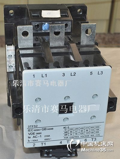 诚信推出-3TF52交流接触器