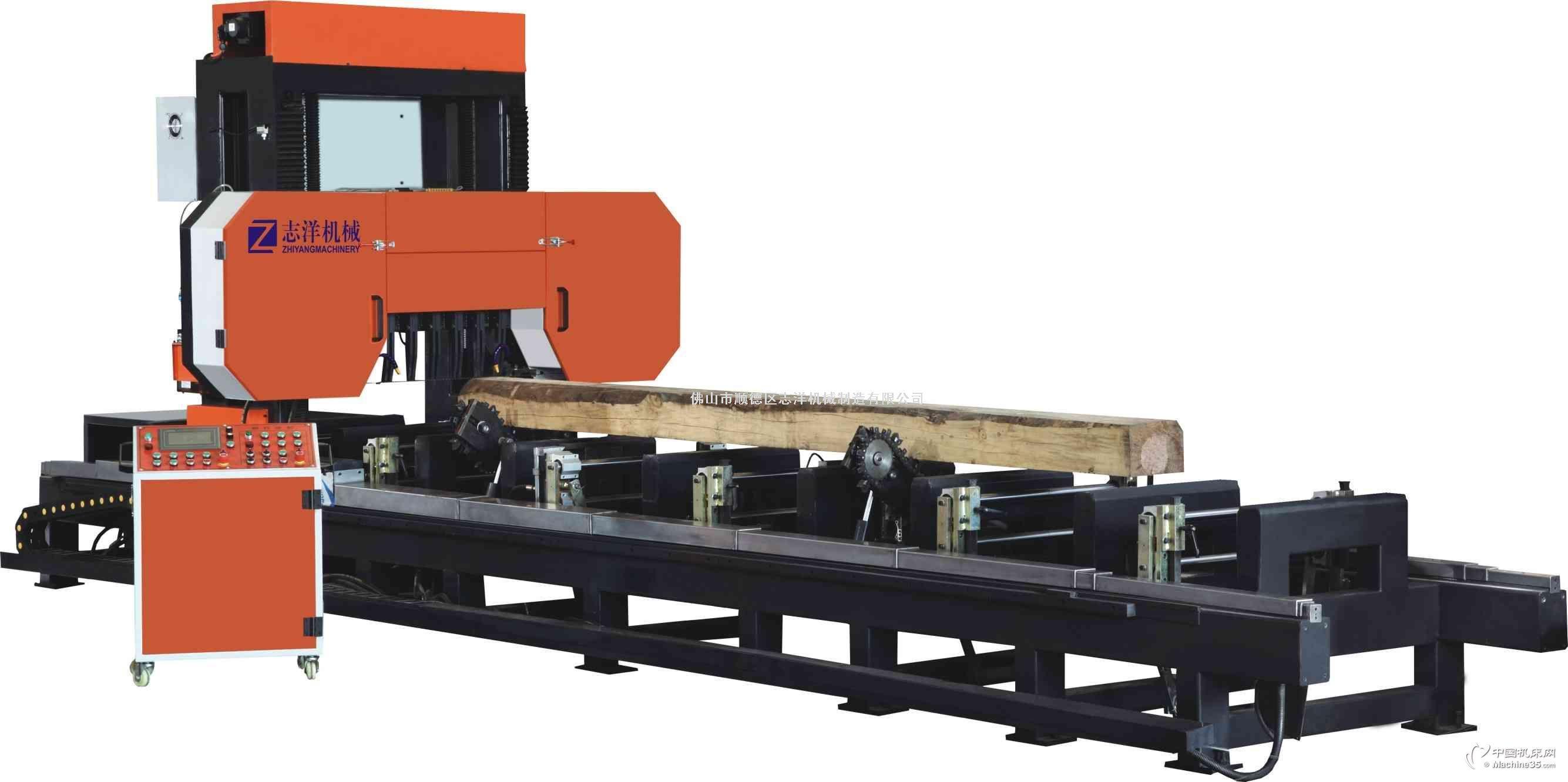 木工机械卧式龙门锯/卧式龙门翻转跑锯MJR700*600