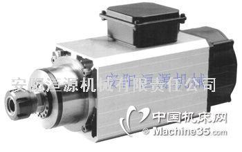 高速电机 木工主轴电机 方形风冷电主轴