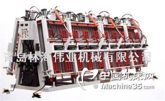 雙面液壓拼板機青島林海拼板機