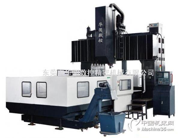 1、机床的主要组成部分本机床主要由工作台部分、底座部分、滑枕和伺服主轴部分、立柱与顶梁部分、电气部分、数控部分、刀库部分、液压部分、润滑部分、冷却部分、排屑部分、防护部分等组成。床身、工作台、立柱、横梁都采用高强度HT250米汗纳铸铁和树脂砂工艺铸造,具有高钢性、良好的精度稳定性。龙门框架由床身、两边立柱和横梁组成,两边立柱下面与床身紧固连接,上端与横梁紧固连接,从而形成一个高刚度的封闭龙门框架。龙门型。