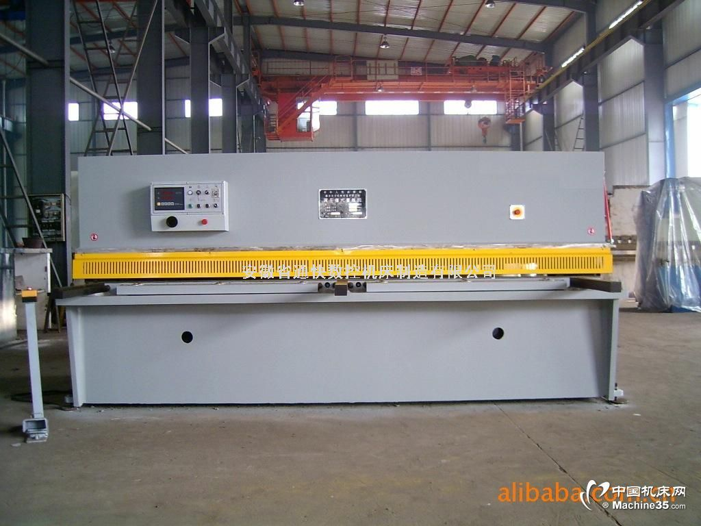 QC11Y液压闸式剪板机图片 剪板机相册 剪板机网