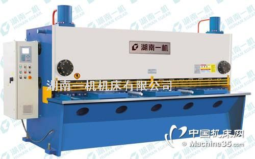 QC11Y液压闸式剪板机 液压剪板机价格 湖南一机