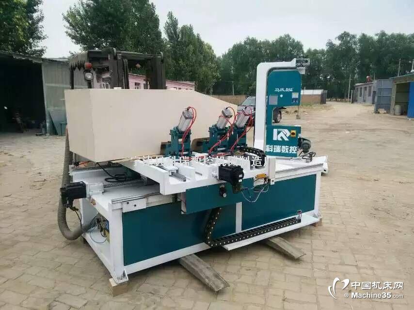 韩版家具数控开料机  带锯机