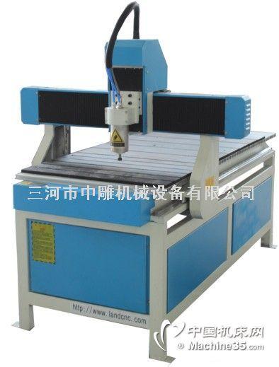 6090玉石木工广告多功能多头雕刻机 三维精雕机