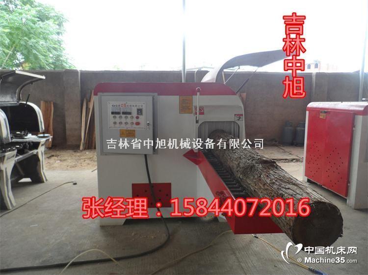辽宁锦州圆木多片锯卧式圆木多片锯木工机械厂家