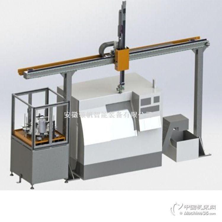 数控机床桁架机械手 上下料桁架机械手 单机床双立柱桁架机器人